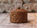Old Carved Sandstone Pot from Jaisalmer